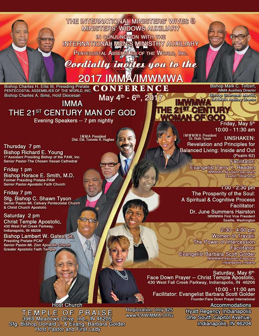 IMMA & IMWMWA Conference 17