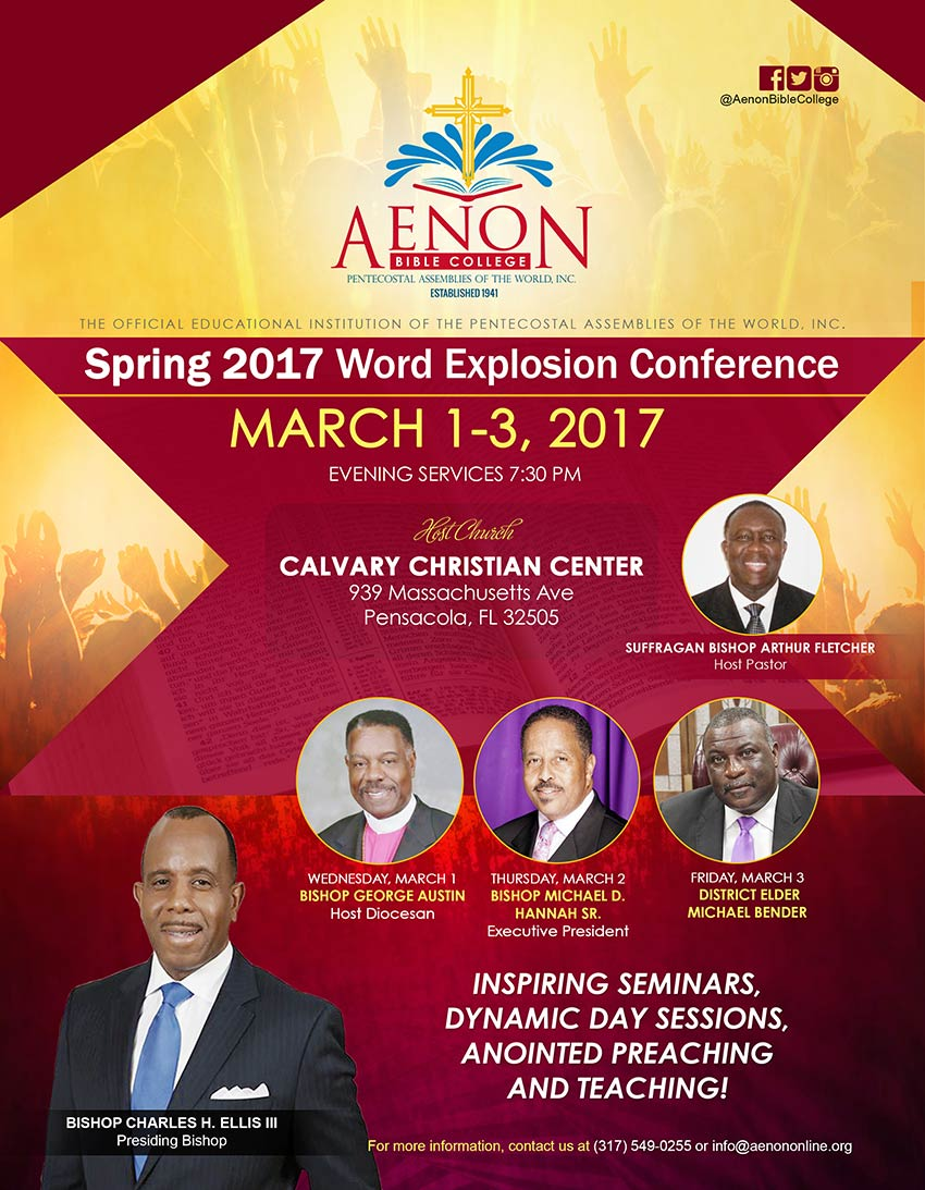 Word Explosion Conference