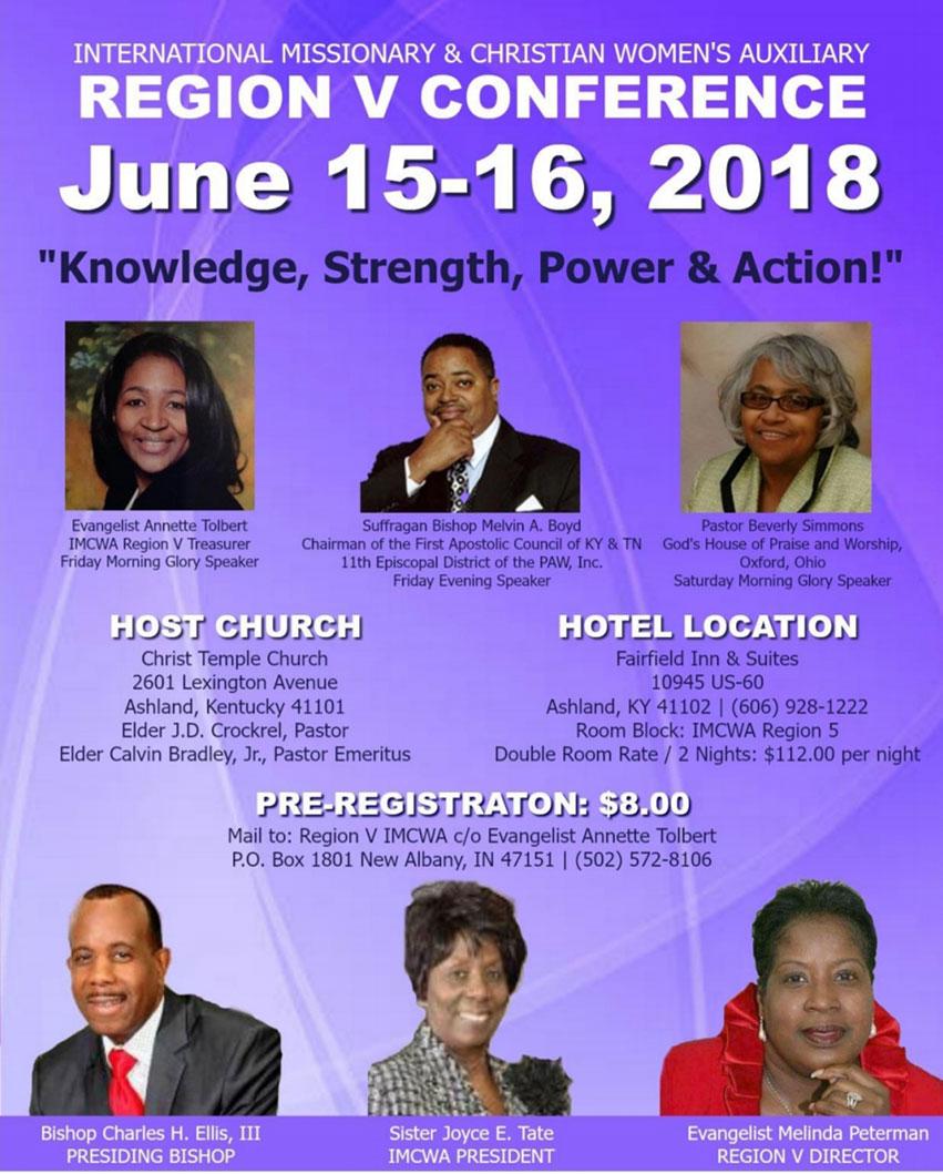 IMCWA Region 5 Conference