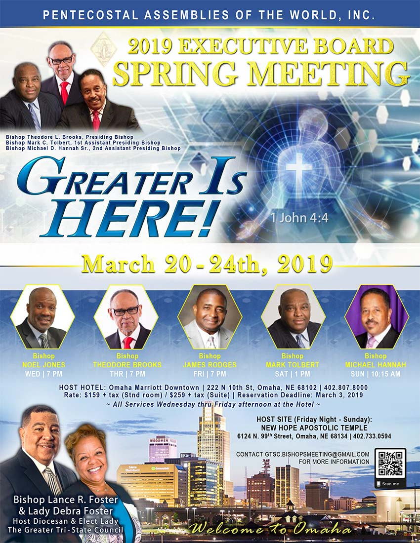 Spring Meeting 2019 in Omaha, NE