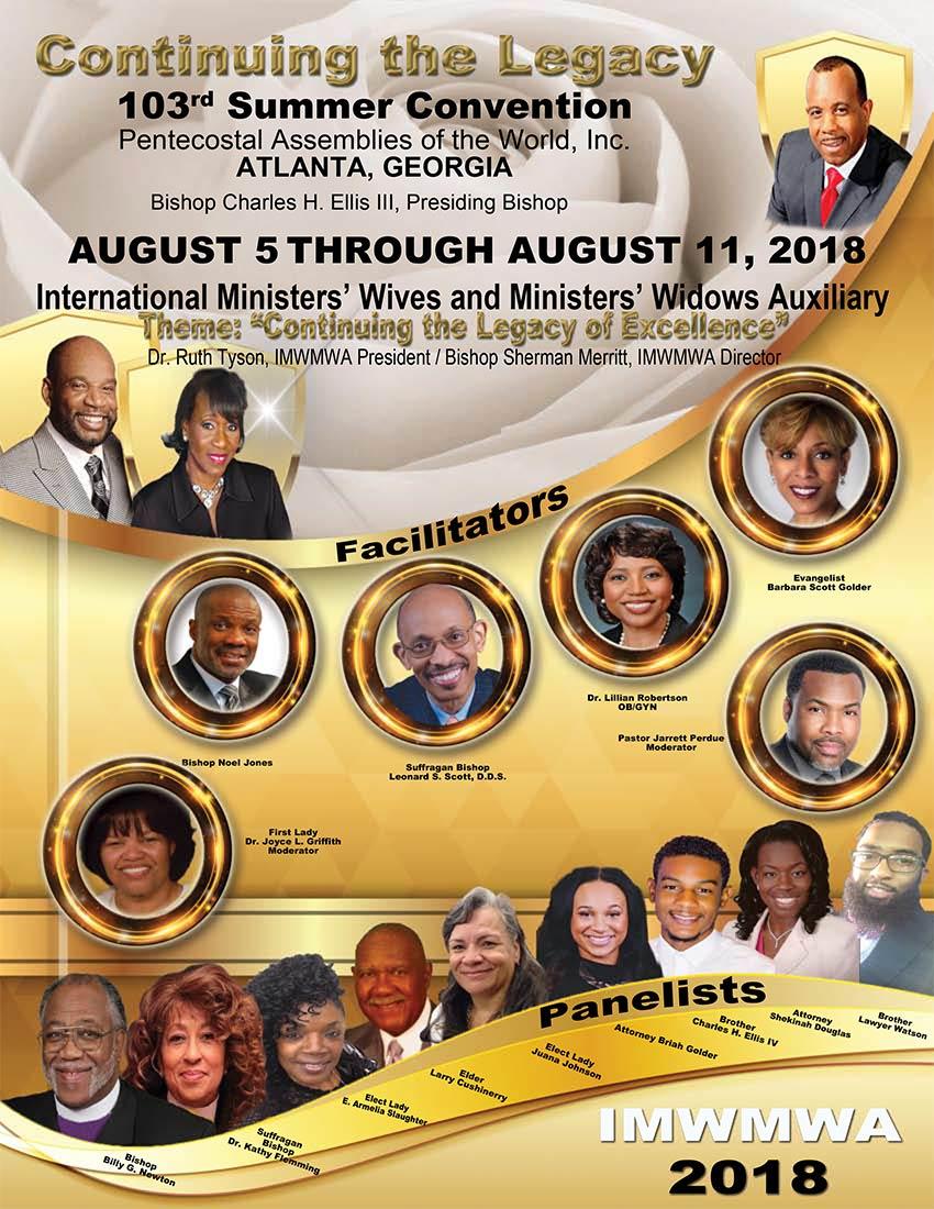 IMWMWA Program Facilitators and Panelists