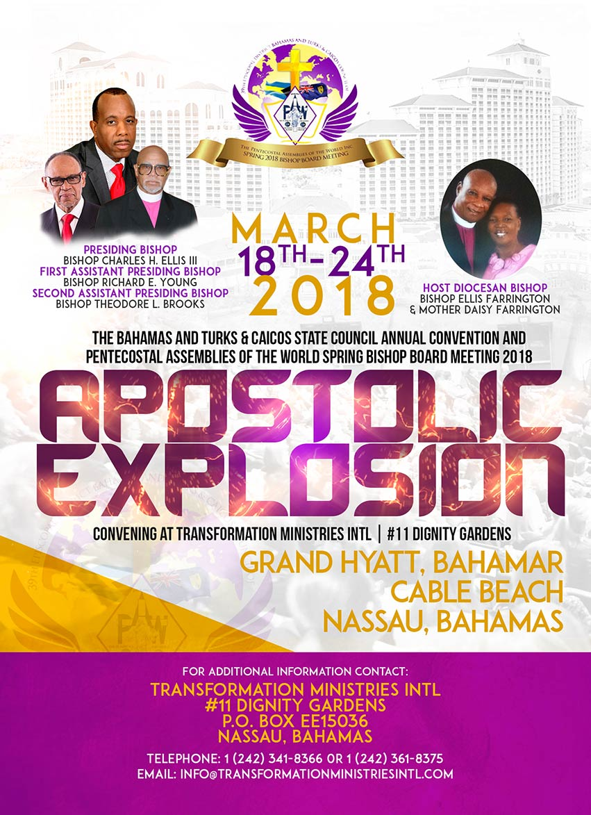 2018 Spring Meeting March 19-24, 2018 Nassau, The Bahamas