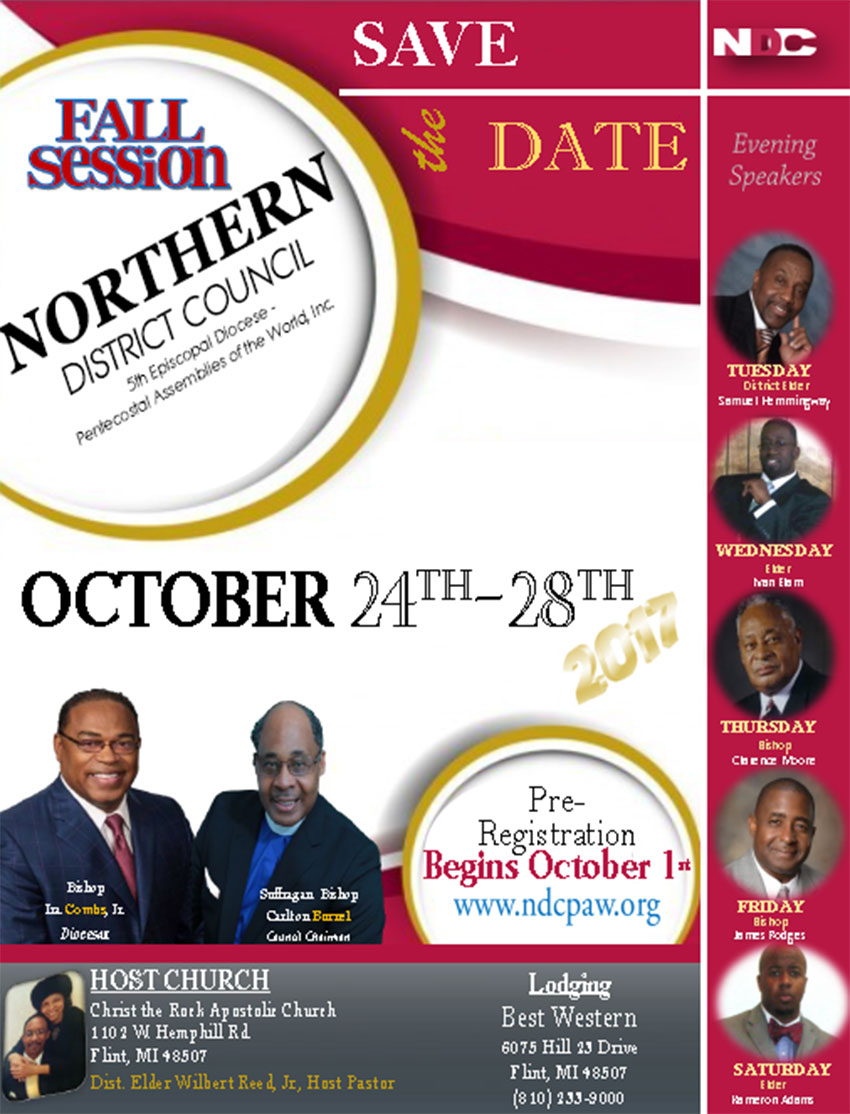 Northern District Council Meeting - Fall 2017