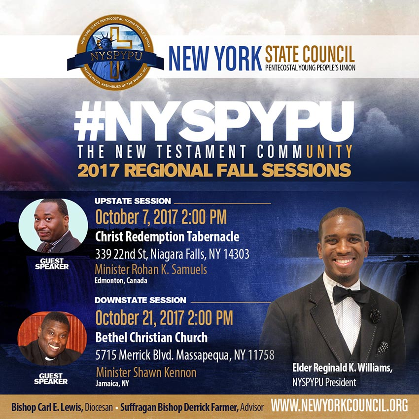 New York State Young People Council Meetings Fall 2017