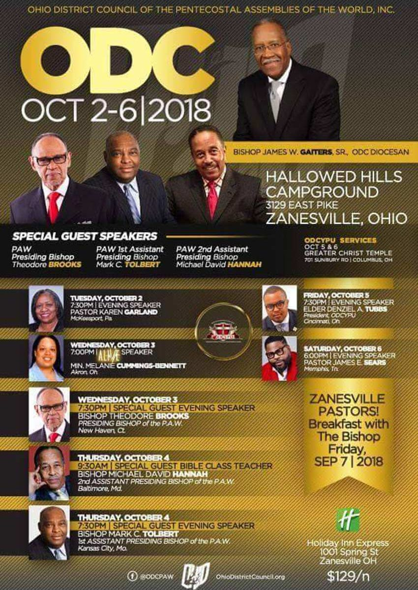 Ohio District Council Meeting Fall 2018