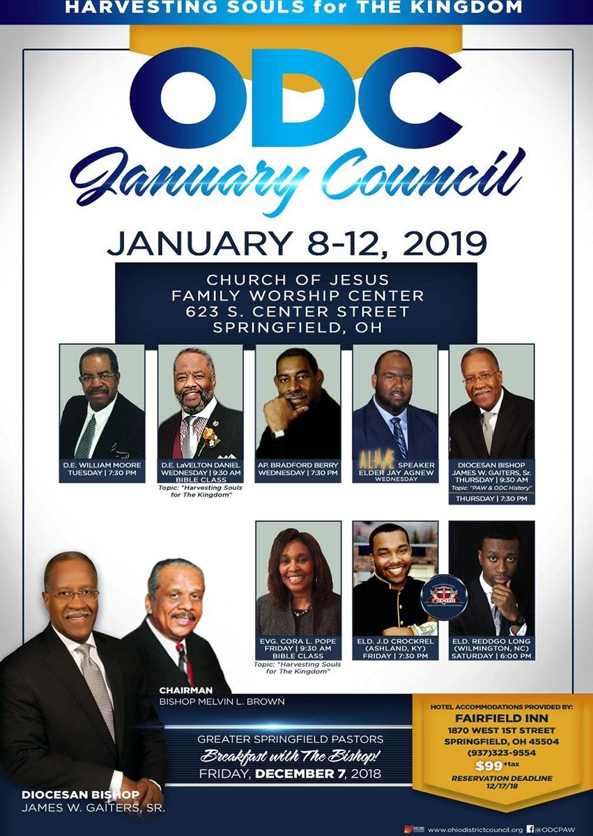 Ohio District Council Meeting Winter 2019