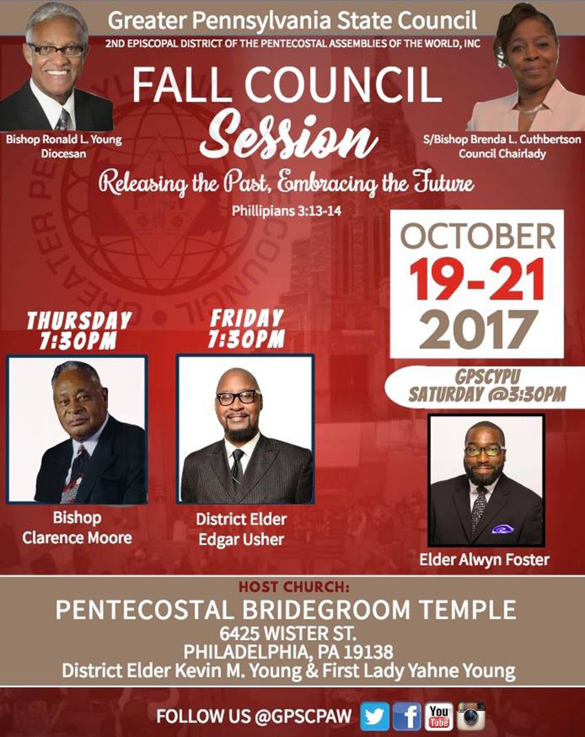Greater Pennsylvania State Council Meeting - Fall 2017