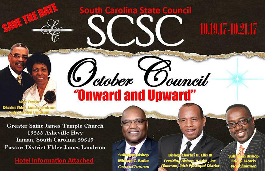South Carolina State Council Meeting - Fall 2017