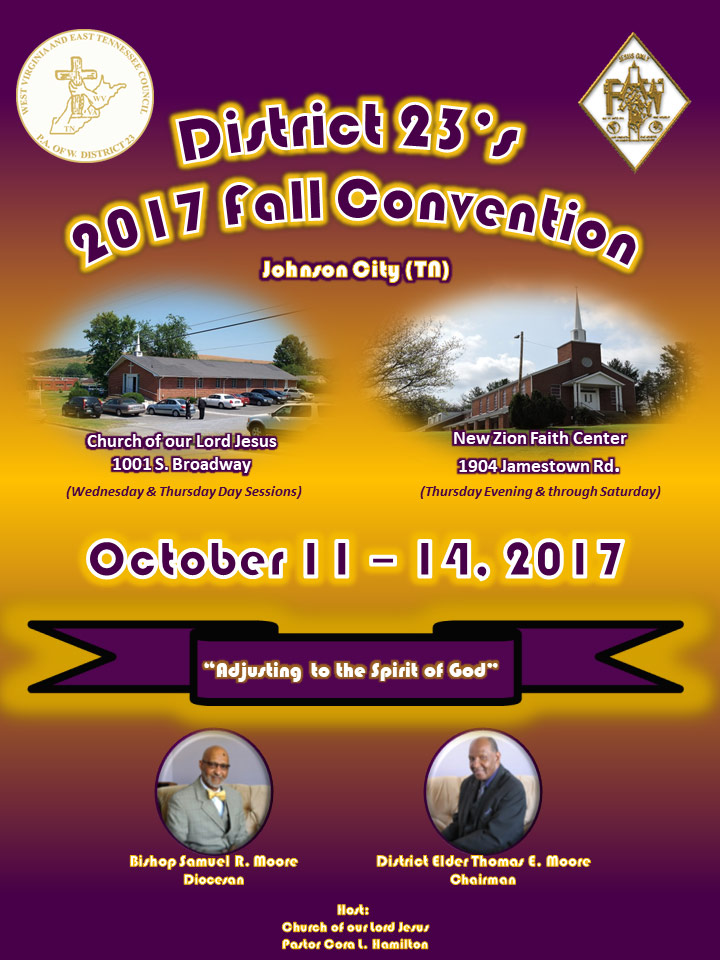 West Virginia East Tennessee Council Meeting - Fall 2017