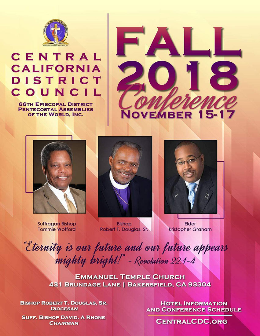 Central California District Council Meeting Fall 2018