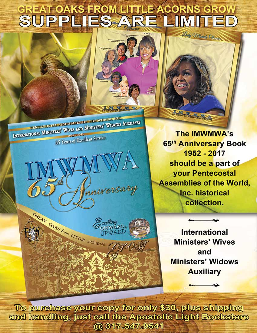 International Ministers Wives Ministers Widows Auxiliary Sixty Fifth Anniversary Book on sale NOW