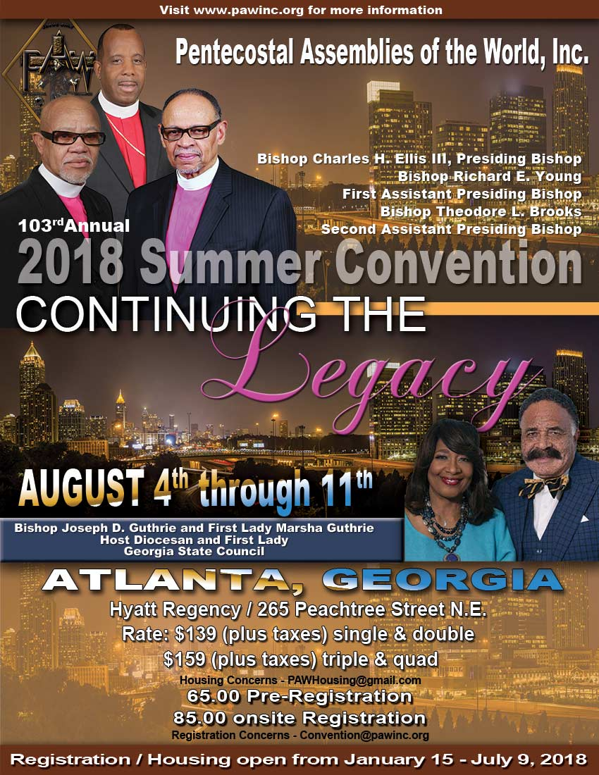 103rd Summer Convention in Atlanta, Georgia.
