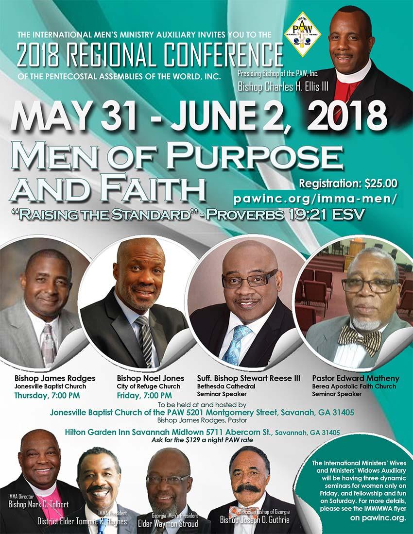 2018 regional conference men