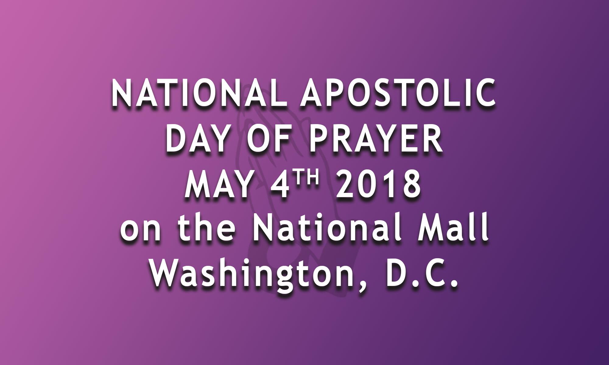 National Apostolic Day of Prayer