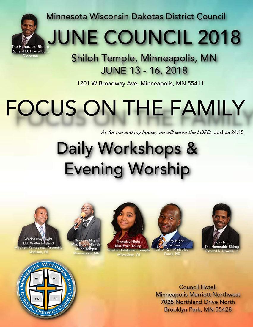 Minnesota Wisconsin Dakotas District Council Meeting - Spring 2018