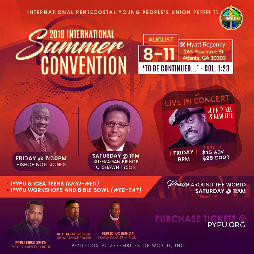 International Pentecostal Young People's Union at Summer Convention