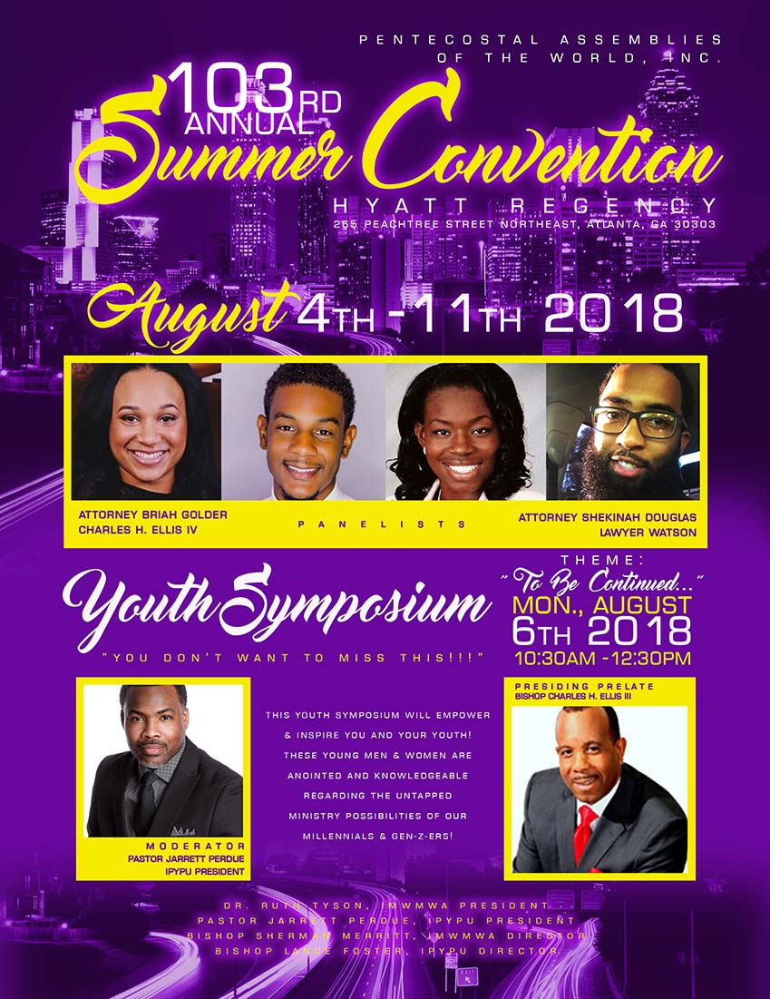 Youth Symposium at the 103rd Summer Convention in Atlanta