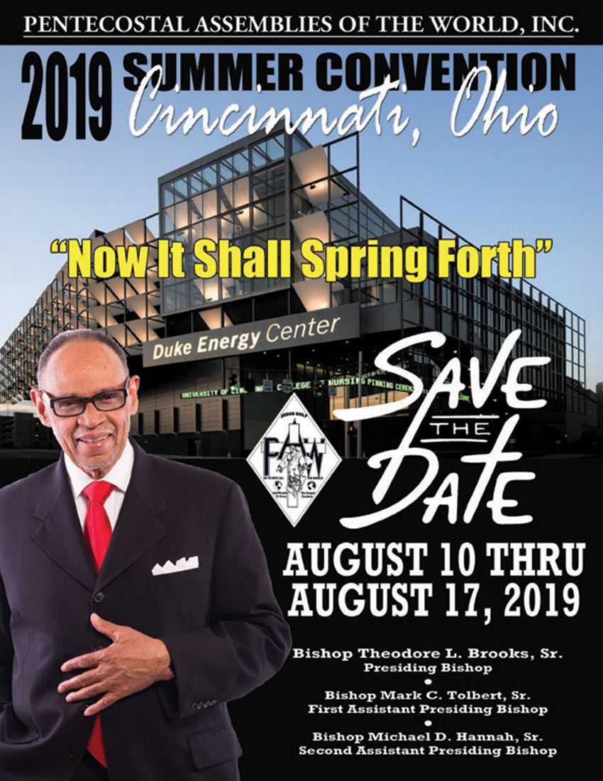 Summer Convention 2019 Save the Date!